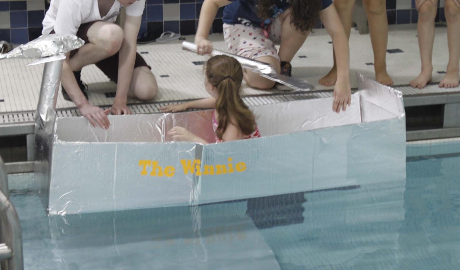"""Boat Race. """"The Winnie"""""""