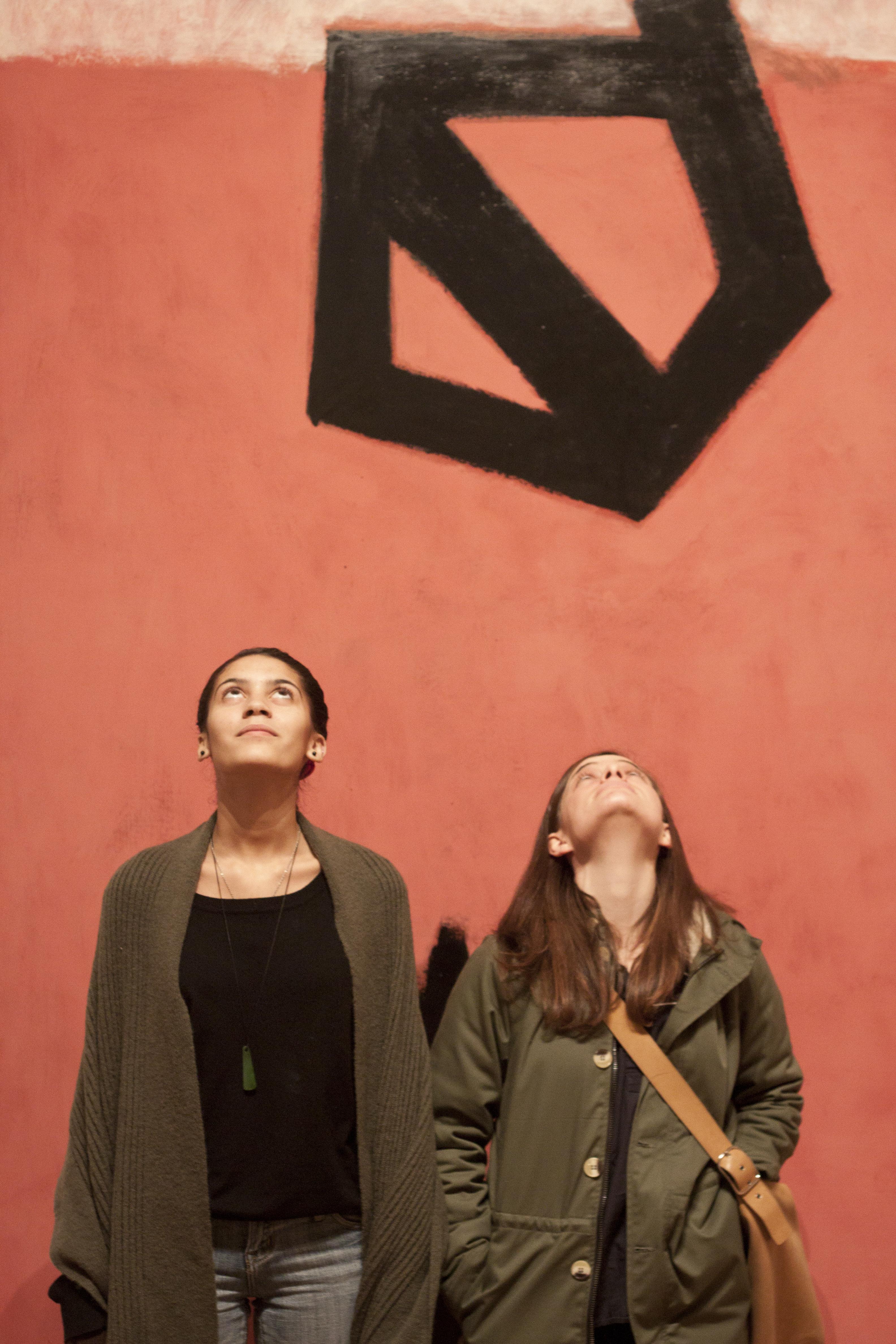 Students at MoMA